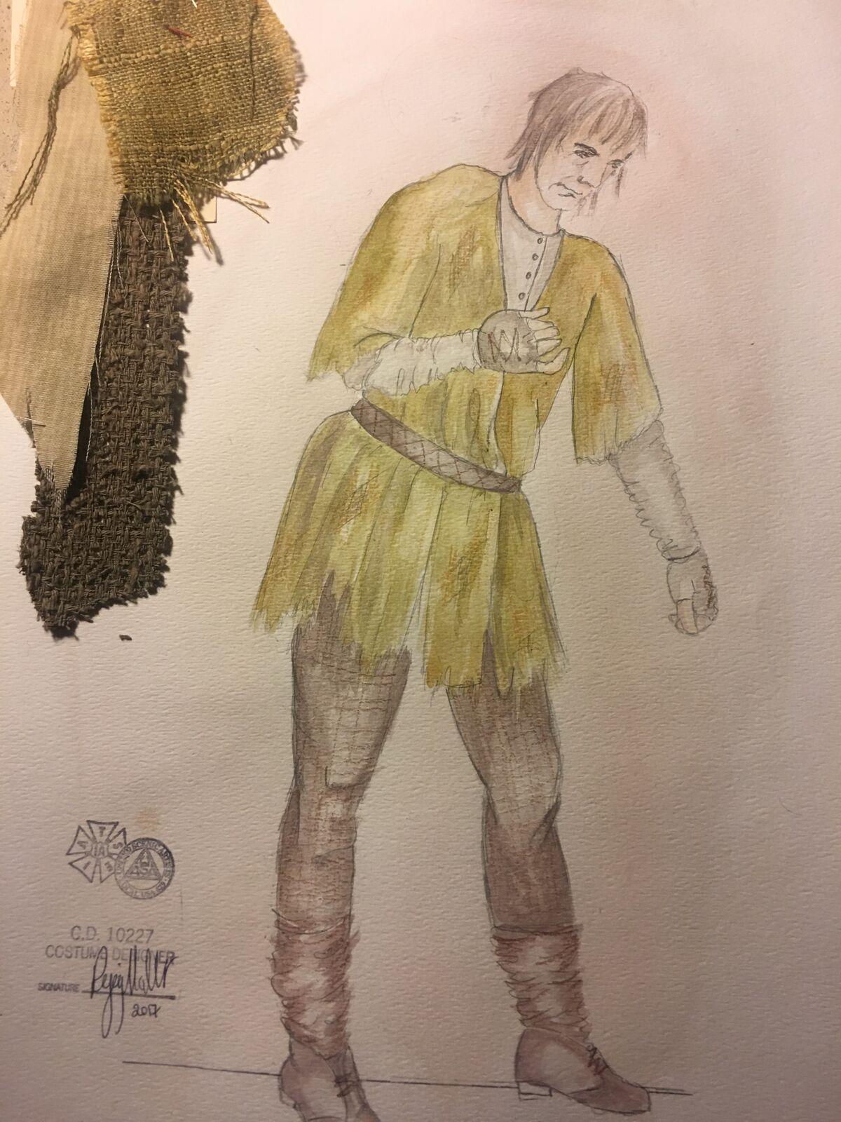 Sketch for Quasimodo