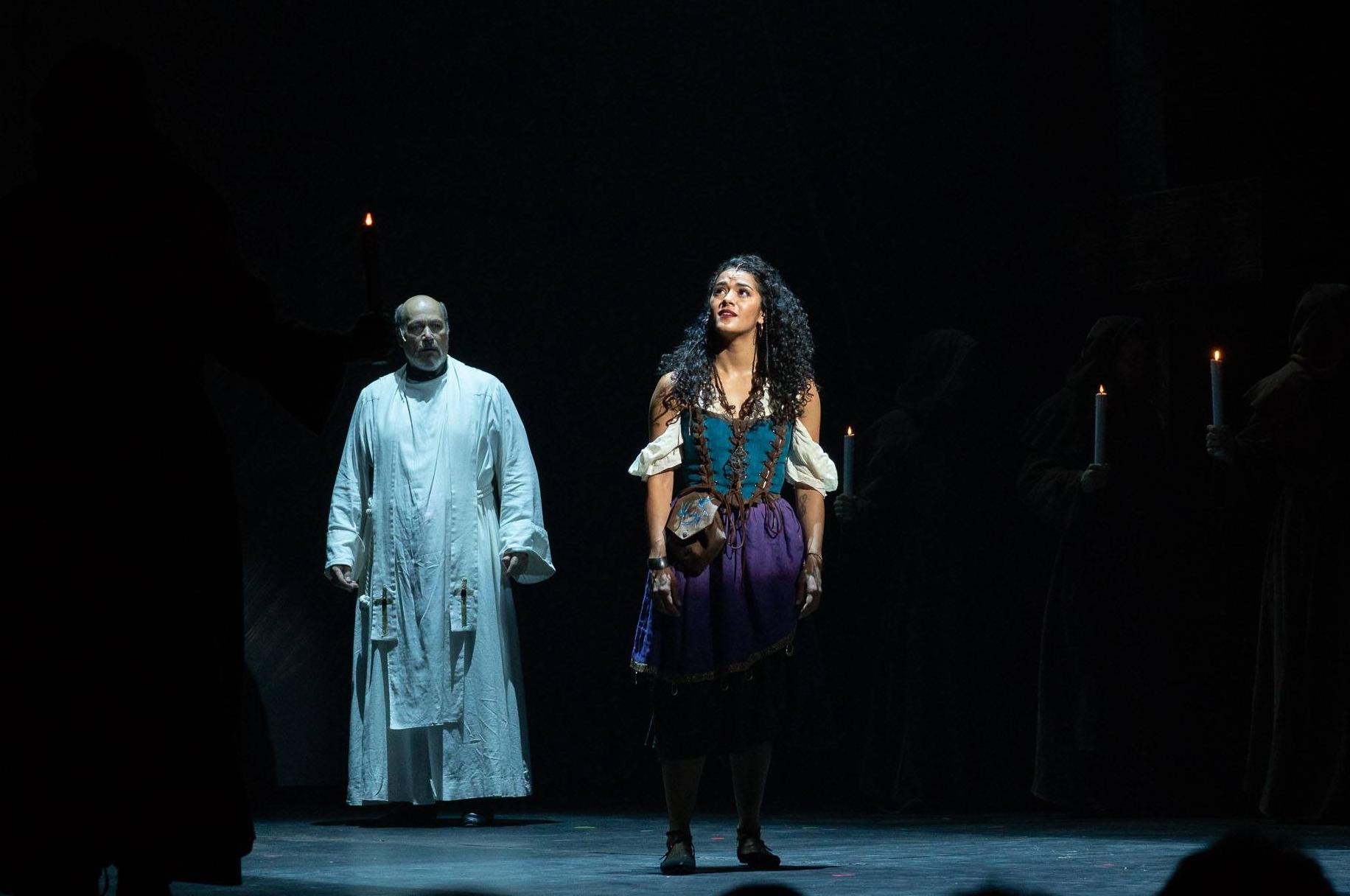 """Kalyn West as Esmeralda """"God Help the Outcasts"""""""