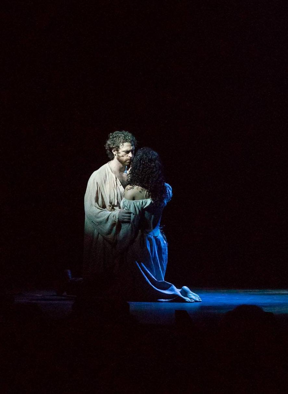 Travis Taylor as Phoebus with Kalyn West as Esmarelda