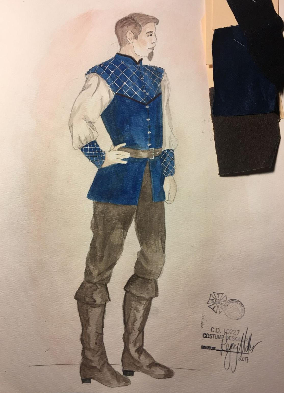Sketch for Pheobus