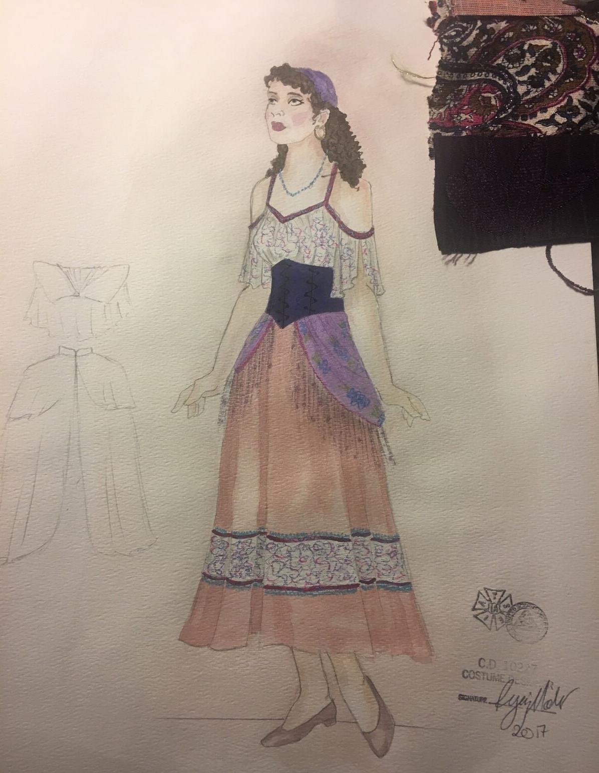 Sketch for Gypsy Chorus