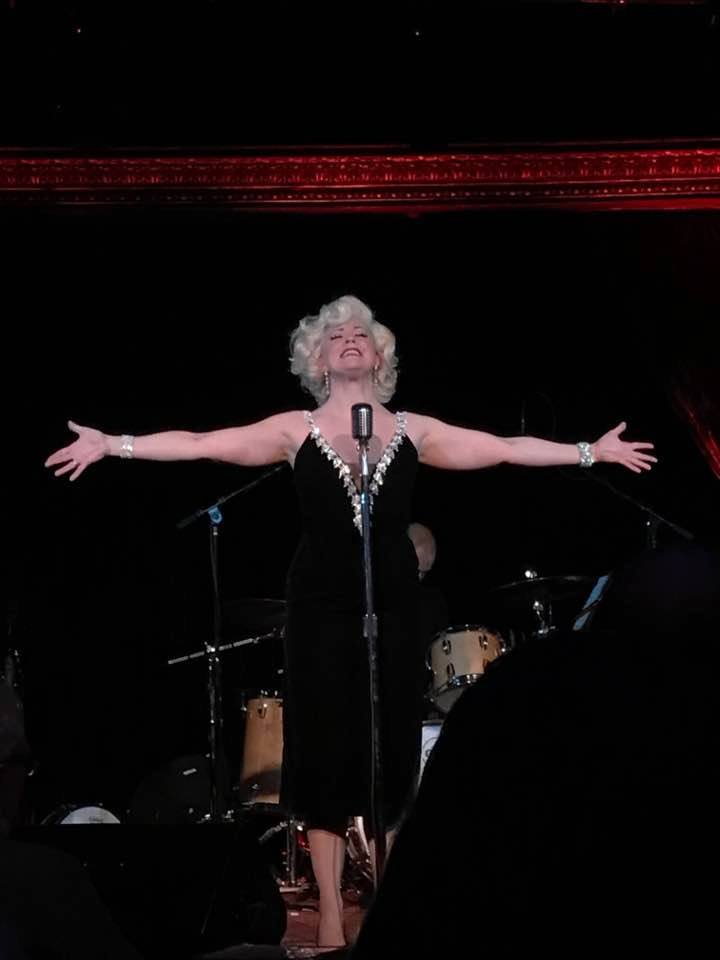 Erin Sullivan as Marilyn Monroe at The Cutting Room, NYC