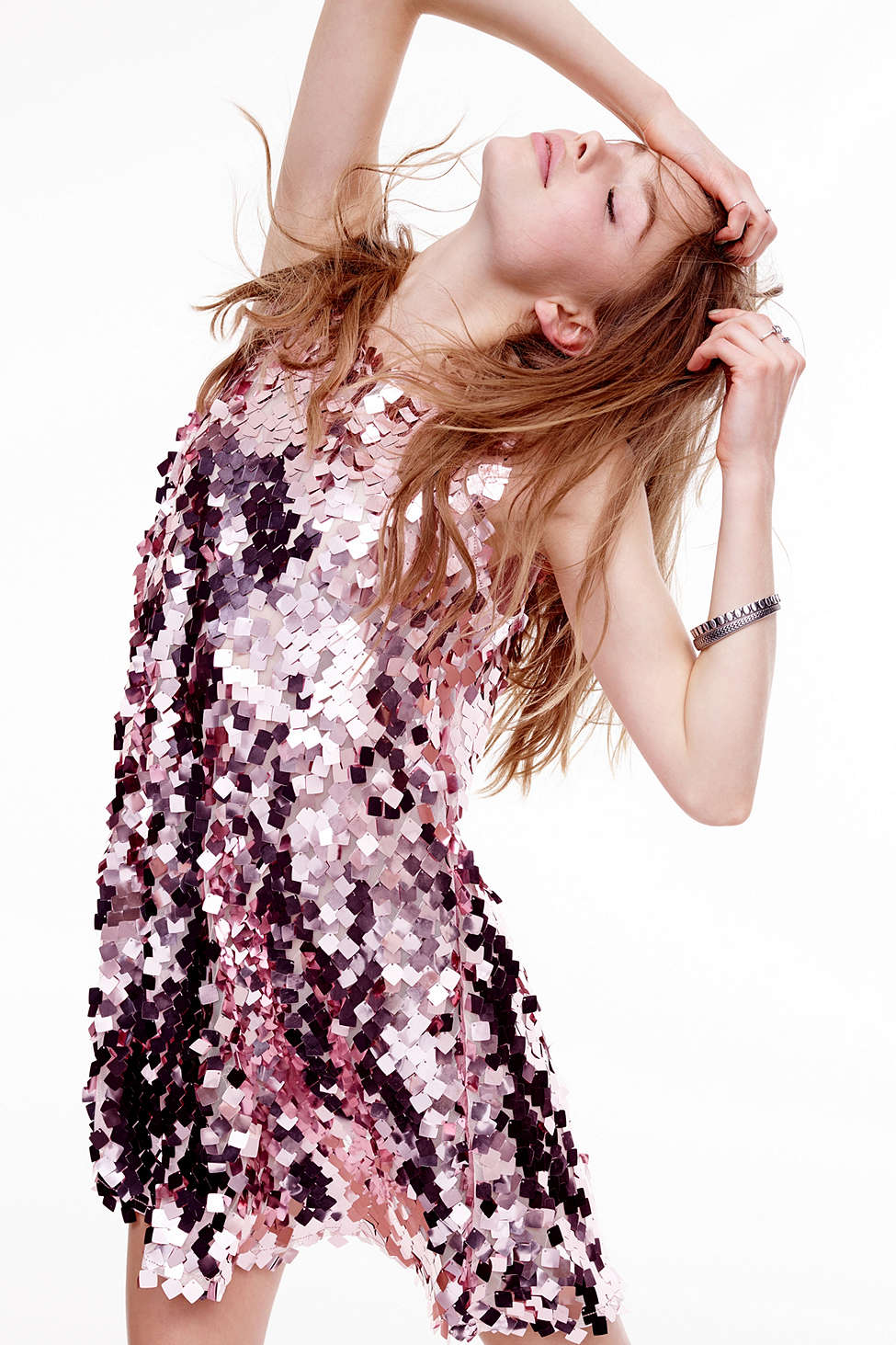 Paillete Dress URBAN OUTFITTERS $179