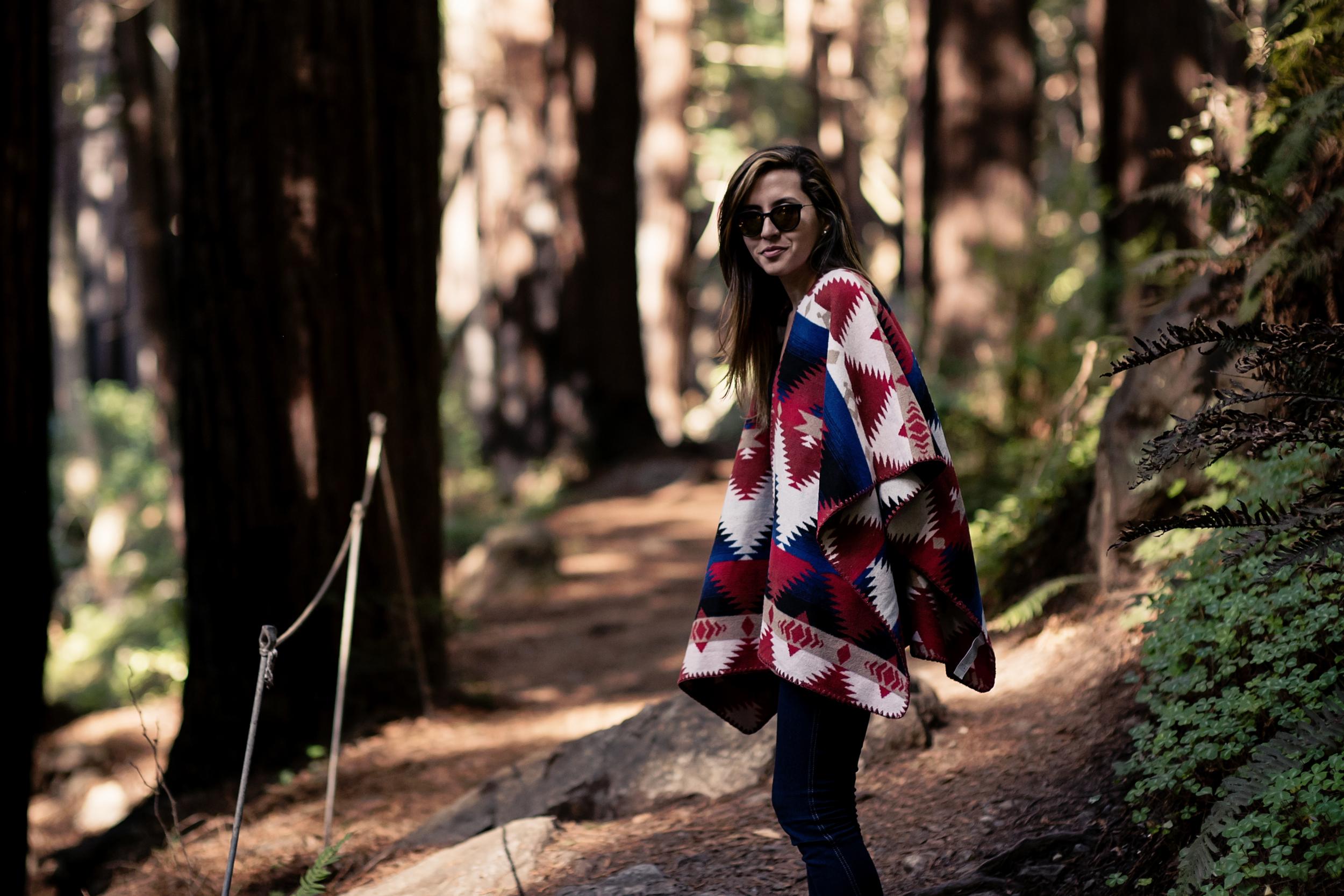 poncho_forever21_fashionblogger