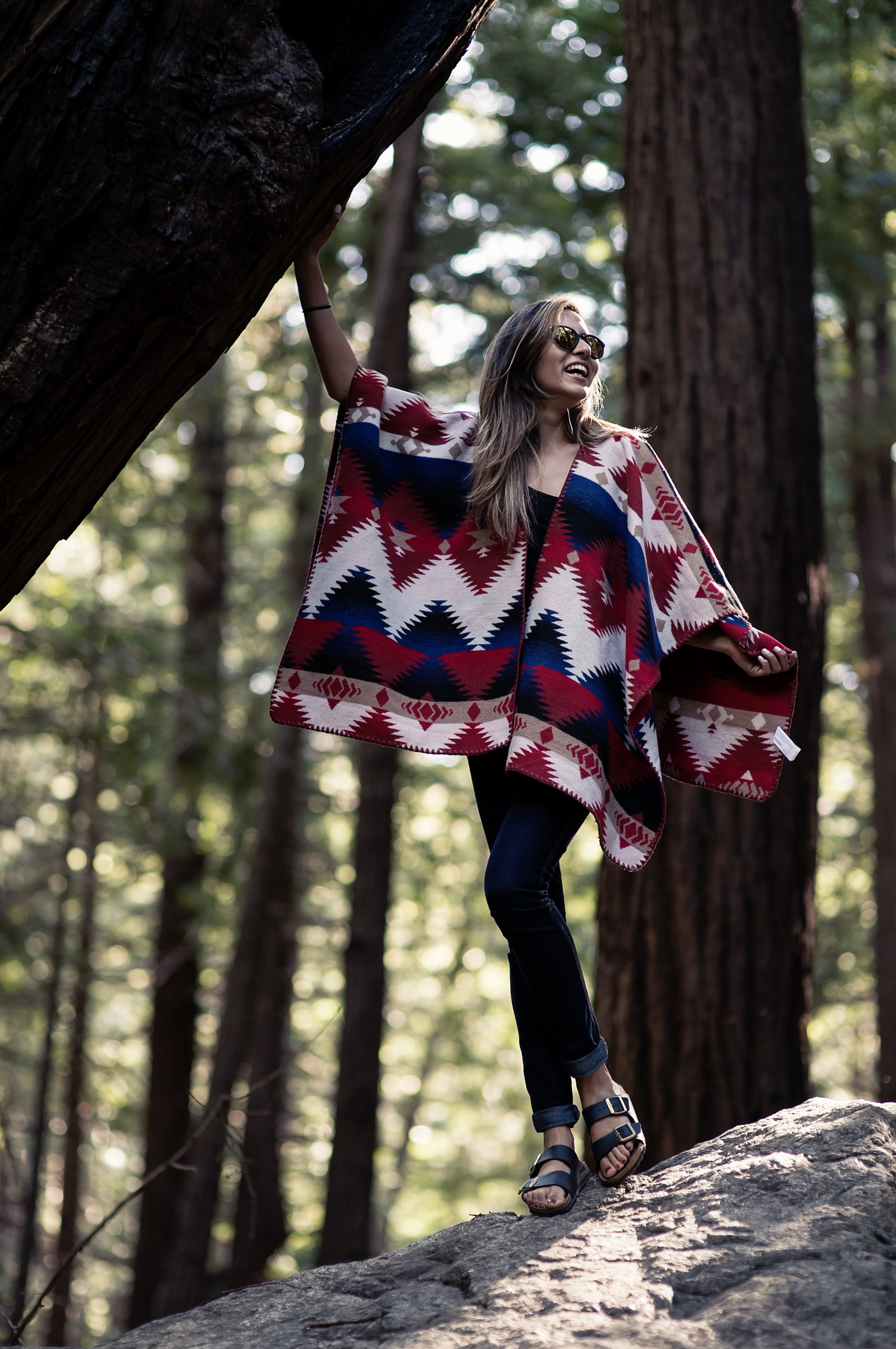 poncho_forever21_woods