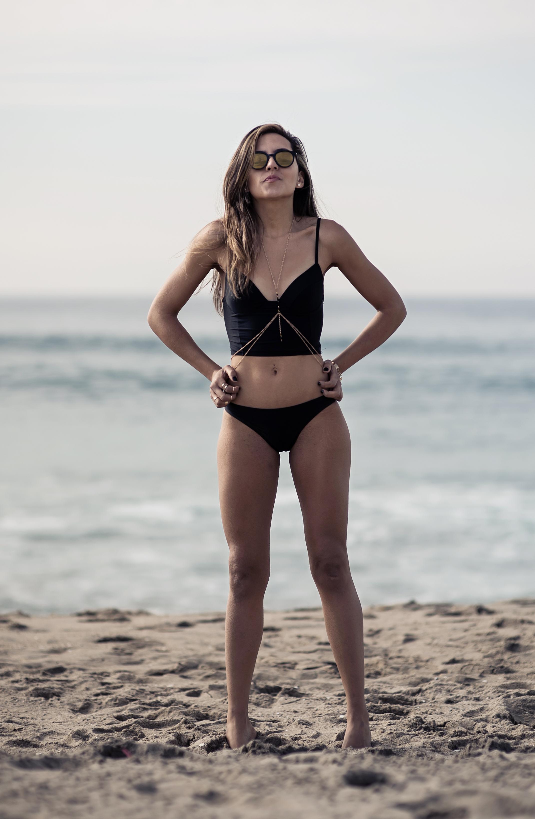 Little Black Bikini By Jaime Ashley