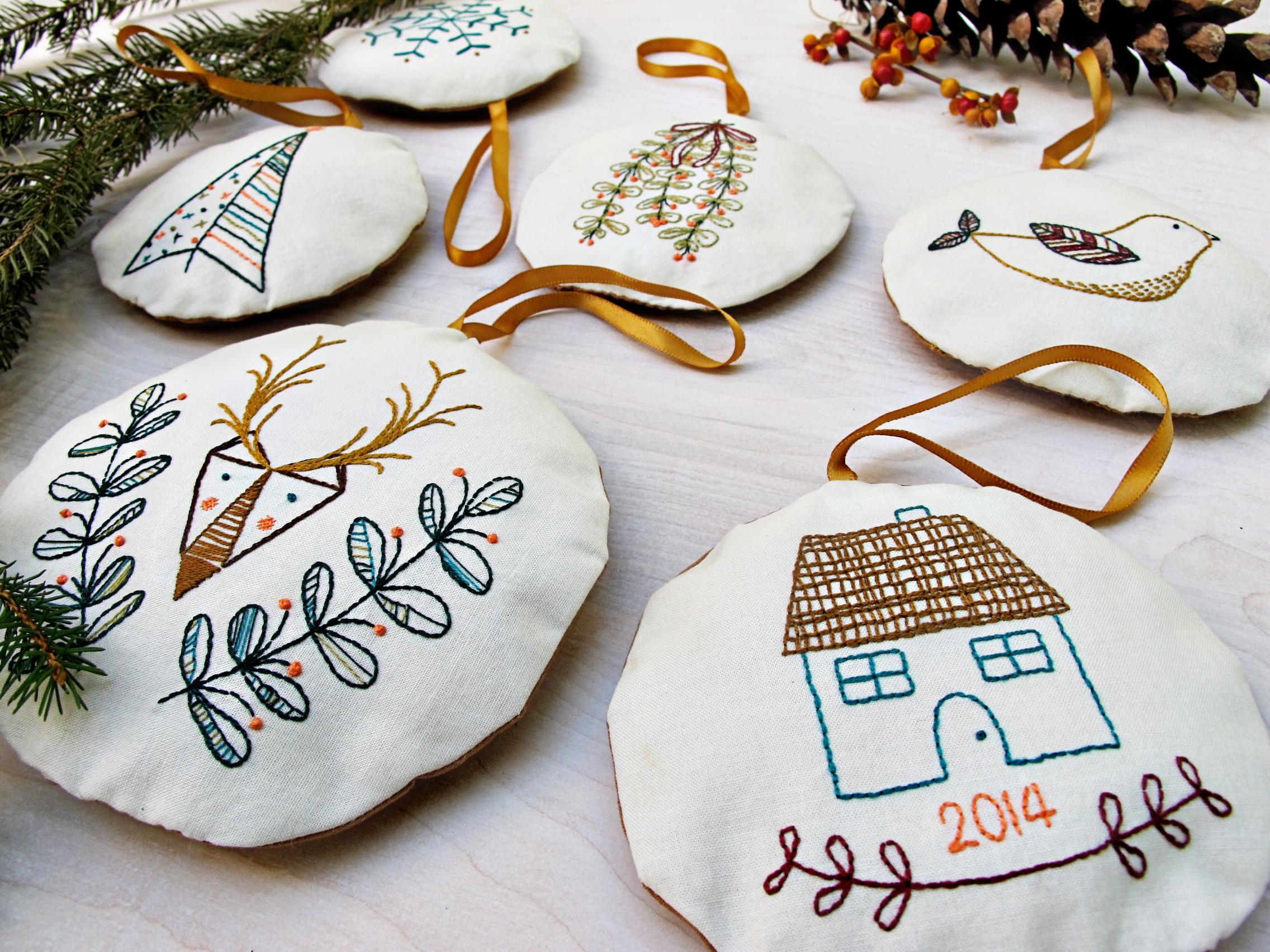 2014 holiday ornaments