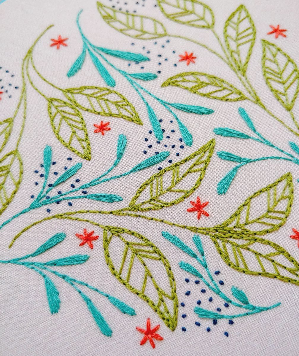 february :: leaf dance