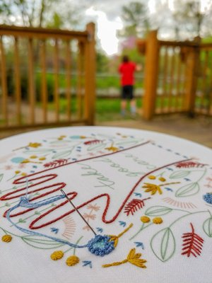 stitch club pattern archive — cozyblue handmade