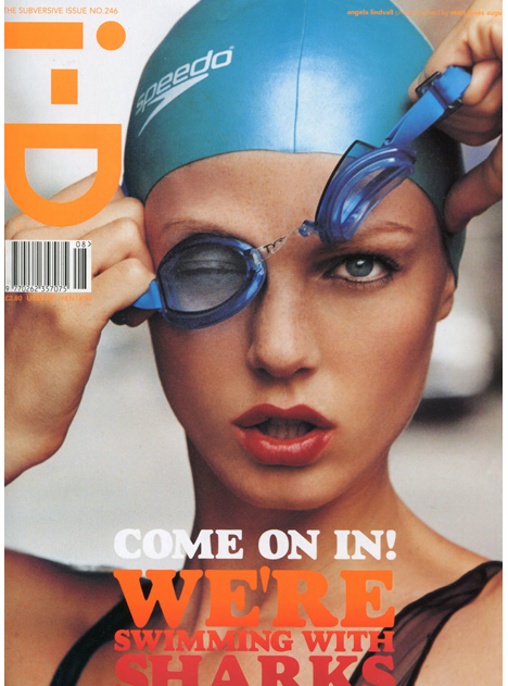 My first ever iD cover with Matt Jones shot many years ago with this beauty and what a cover it turned out !!!