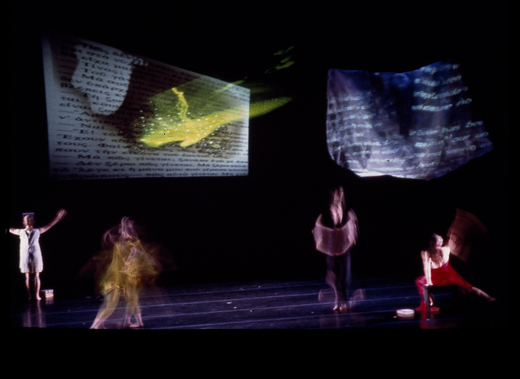 The Commencement of Erydite,  1996 performance,collaboration w/choreographer Andrea Woody,Byham Theater