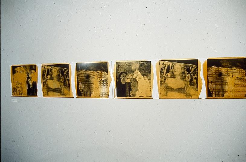 GATCATG  black and white silver prints,resin