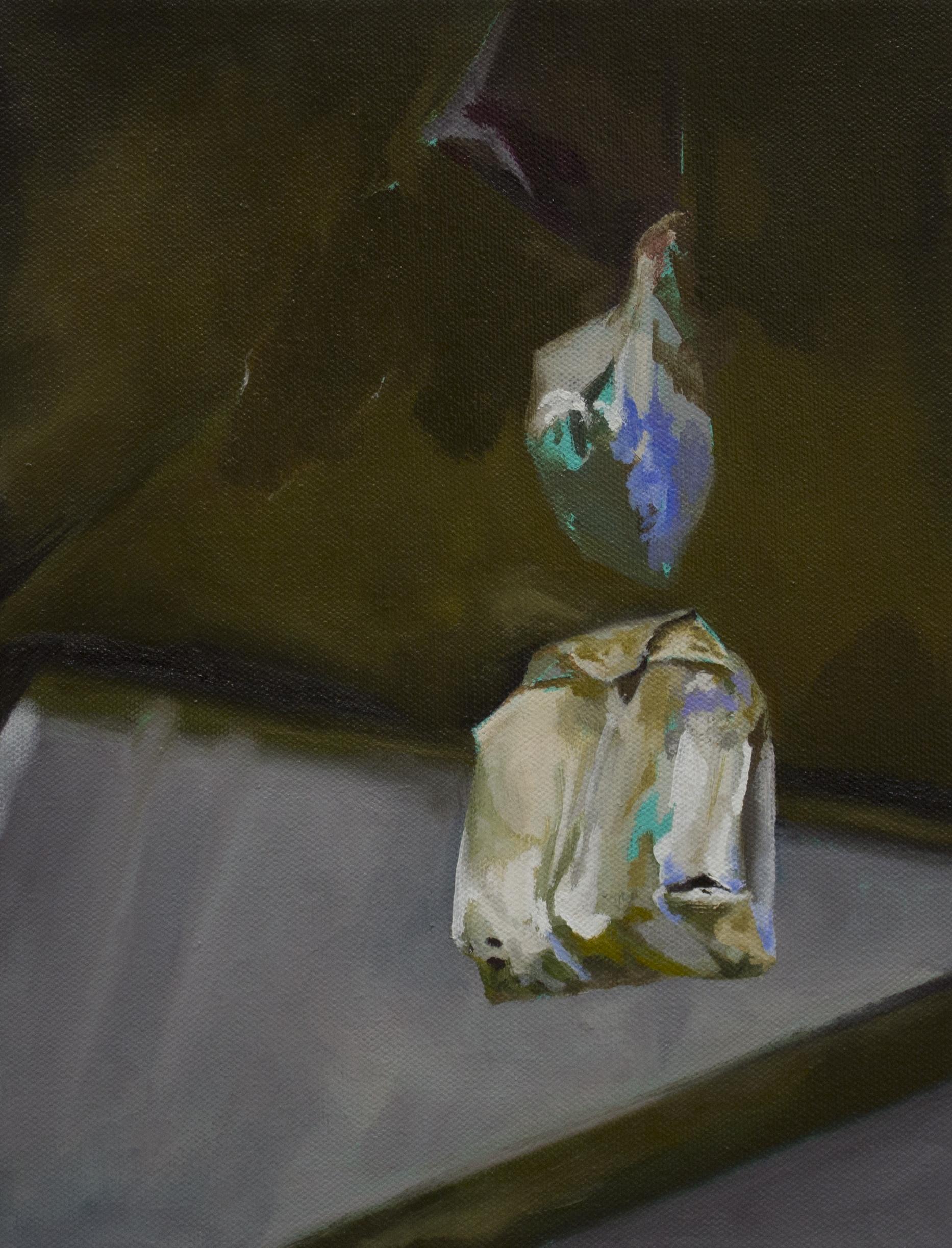 """descend    oil on canvas.  12x9"""""""