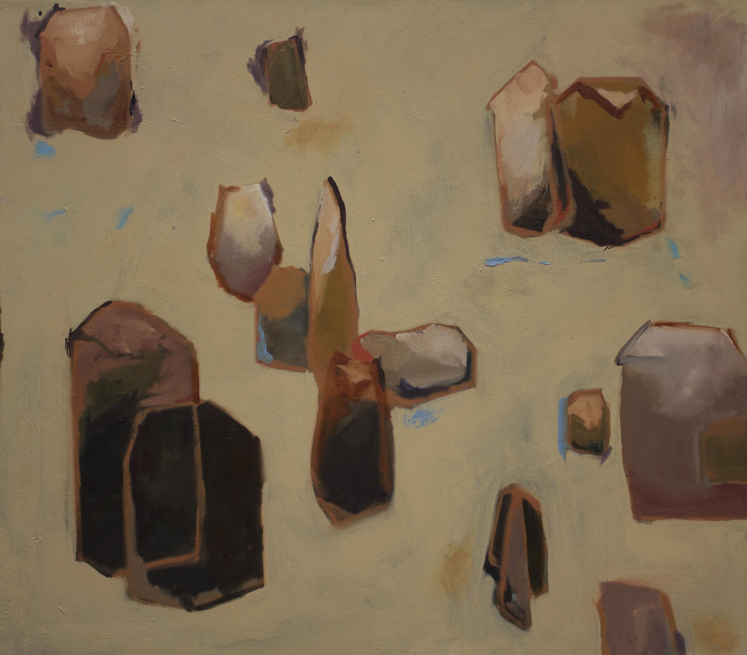 "desert  | oil on canvas.  32x28"""