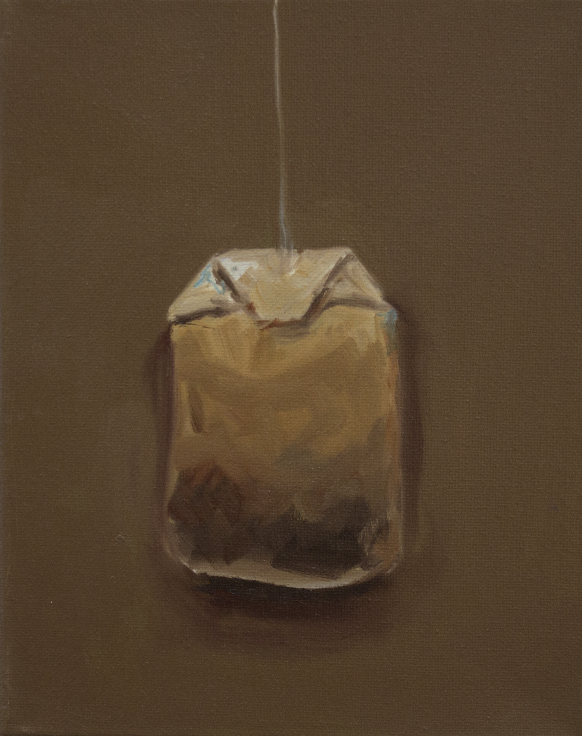 "tea study 3  | oil on canvas.  10x8"""