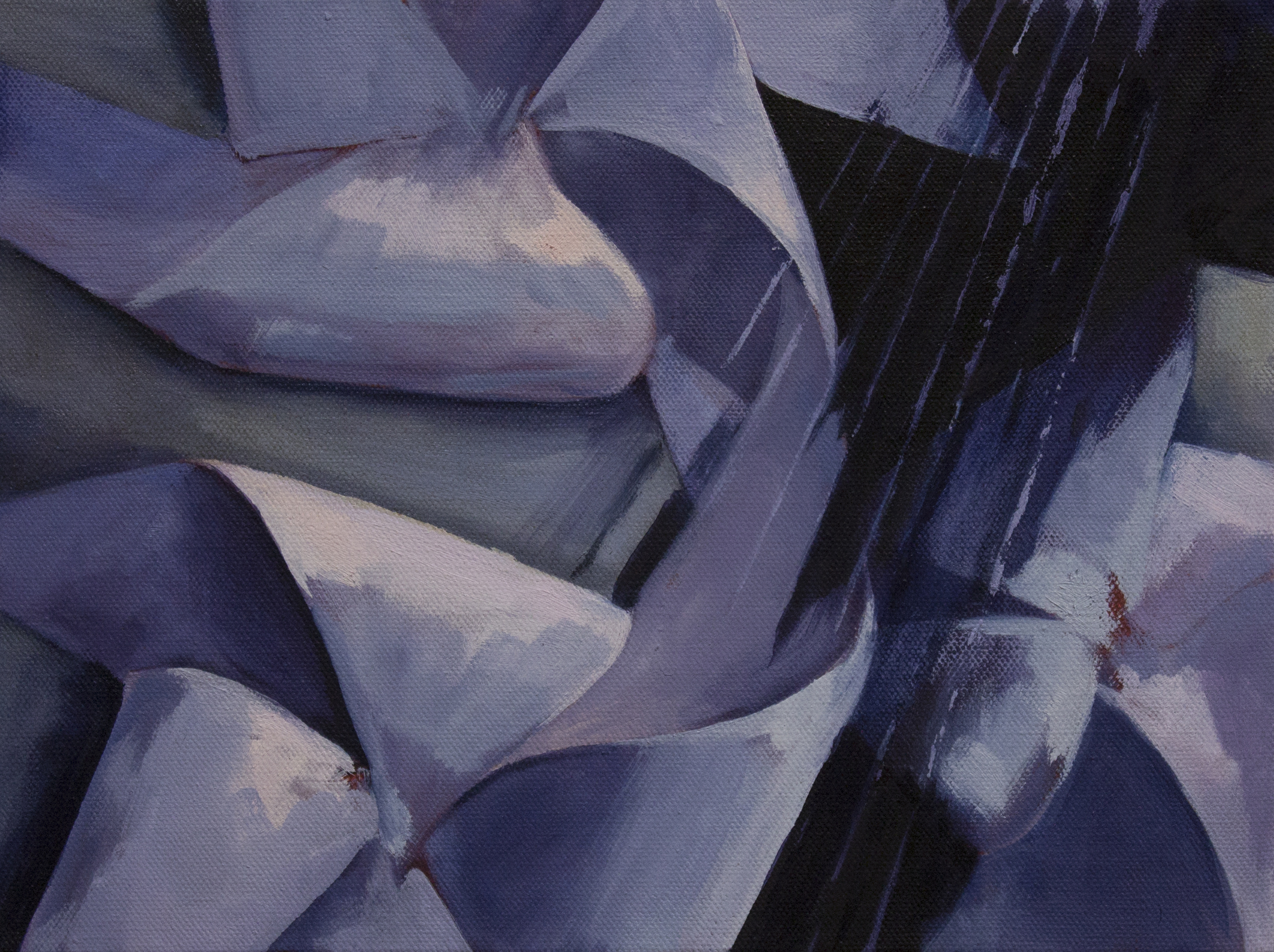 "warp  | oil on canvas.  9x12"""