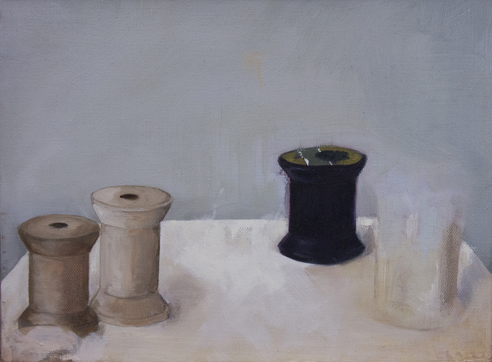 "morandi  | oil on canvas.  9x12"""