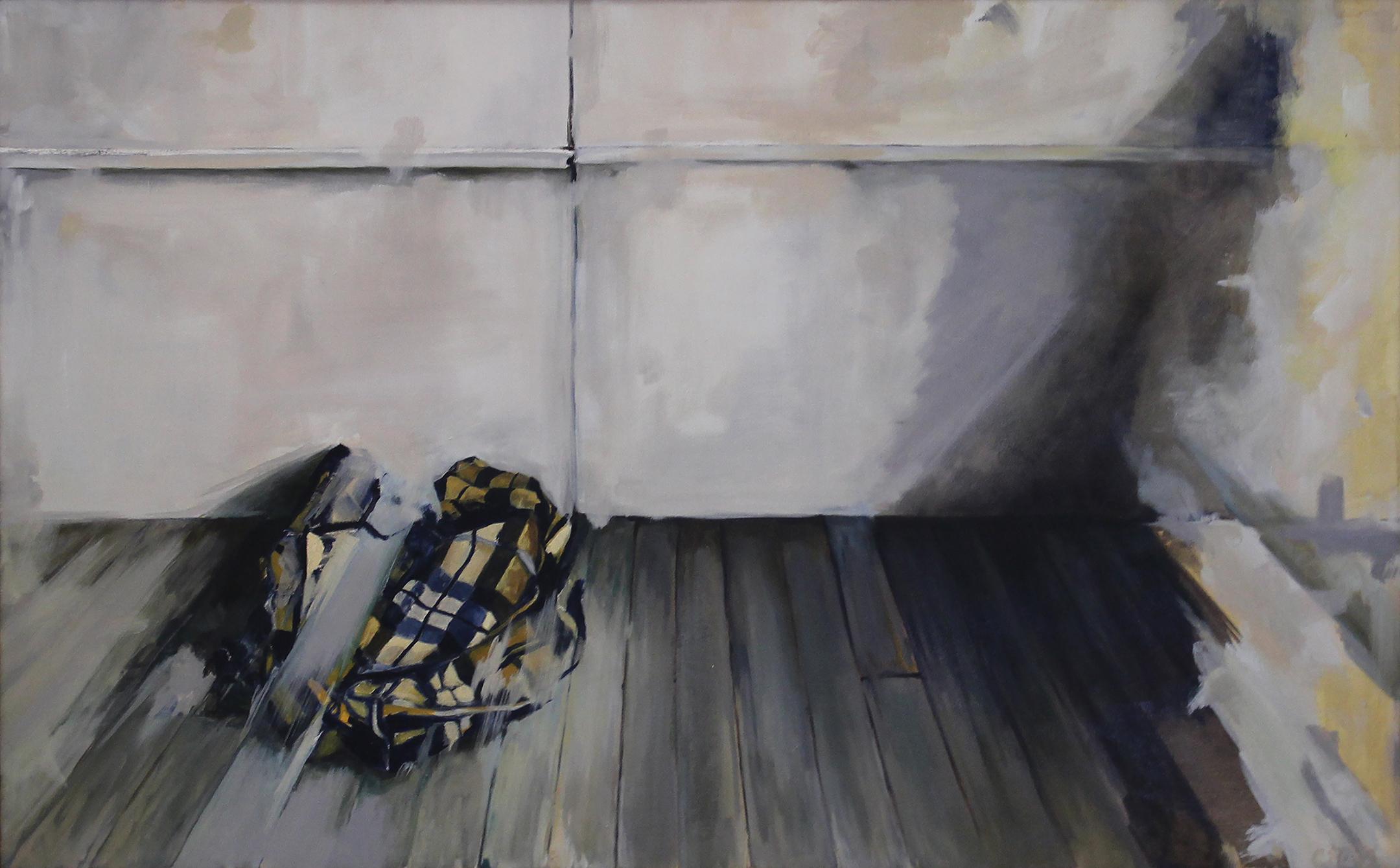 """eddie vedder    oil and graphite on canvas  30x48"""""""