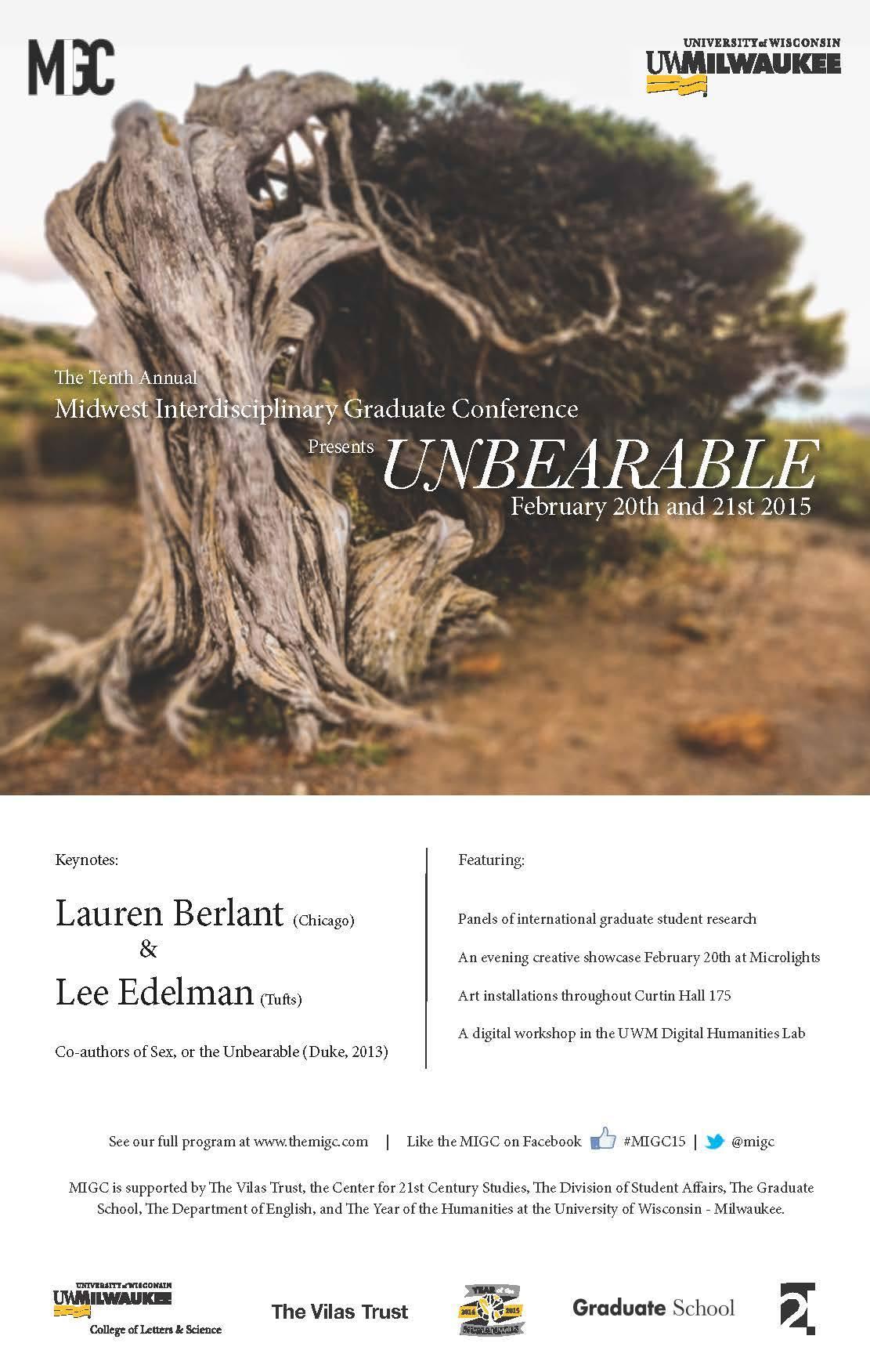 MIGC 2015: Unbearable