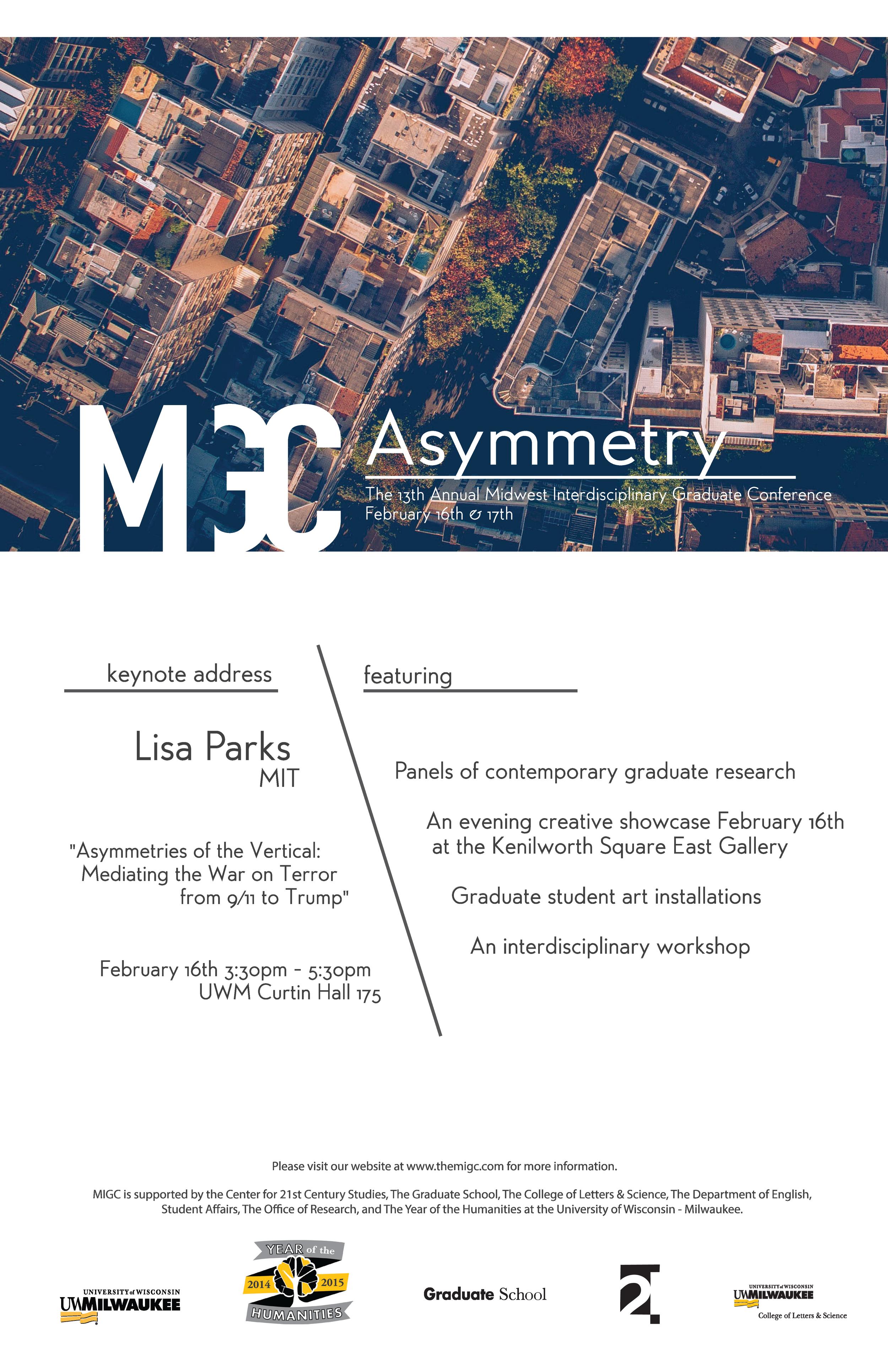 MIGC 2018: Asymmetry