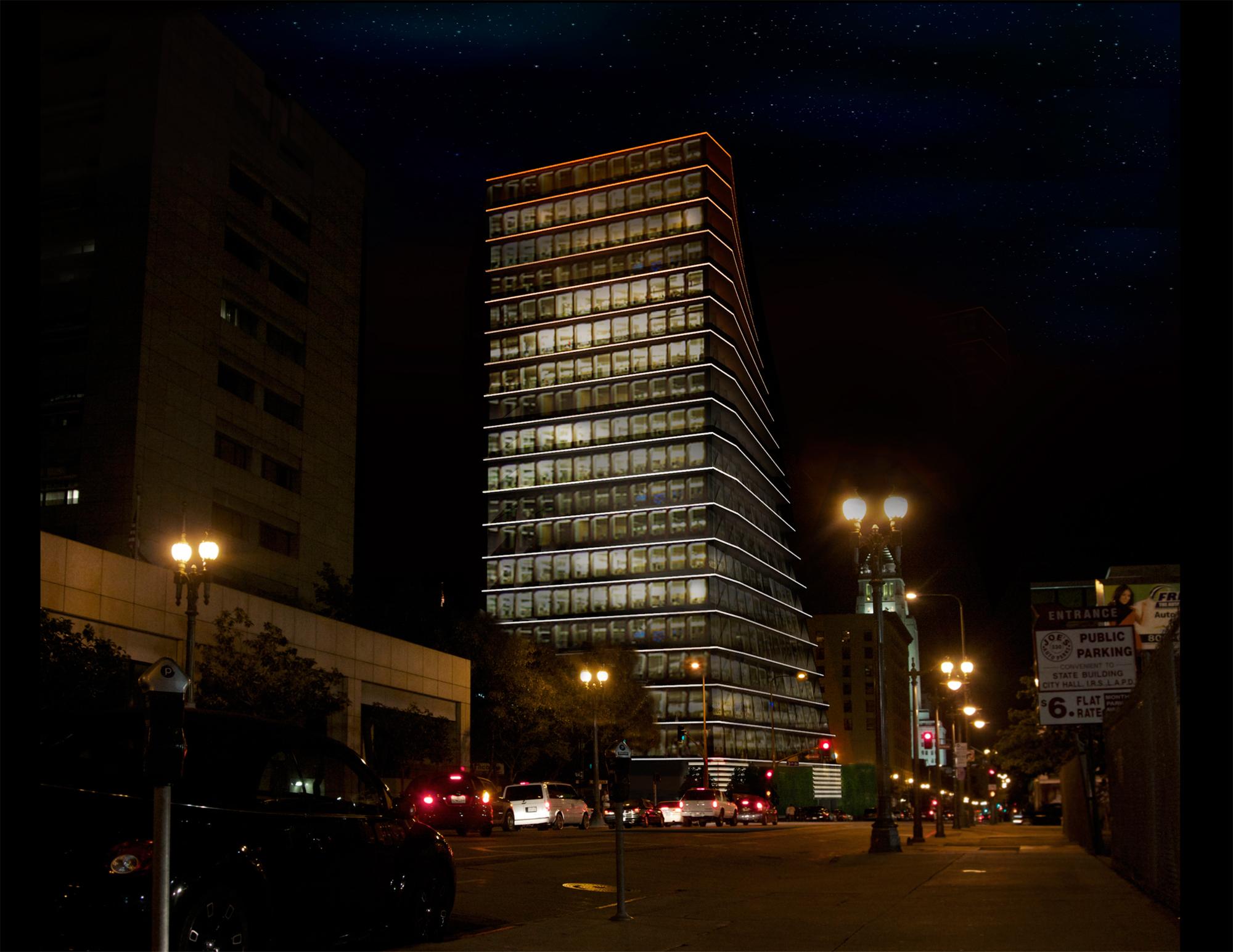 Exterior - Night View