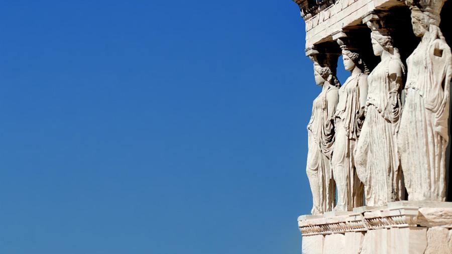 L'Acròpolis d'Atenes ambl'imponent Partenó