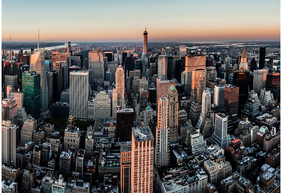 Posta de sol a l'Empire State Building