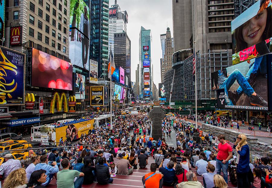 Times Square,la plaça per excel·lència de Nova York