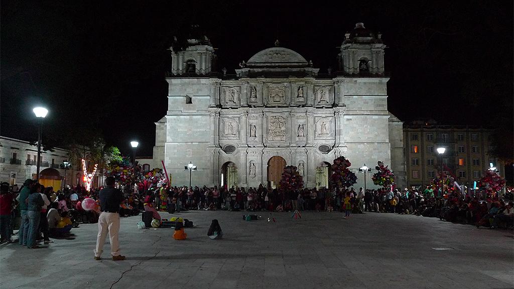 El Zócalo de Oaxaca, és laplaça més importantde la ciutat