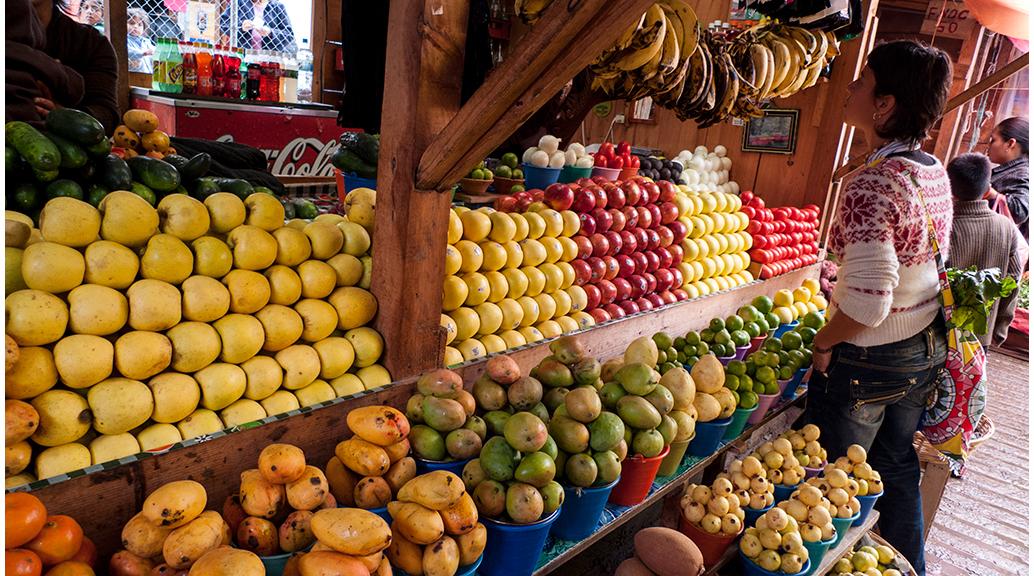 Colors de la cultura mexicana als mercats