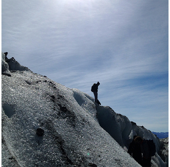Caminada pel glaciar Viedma