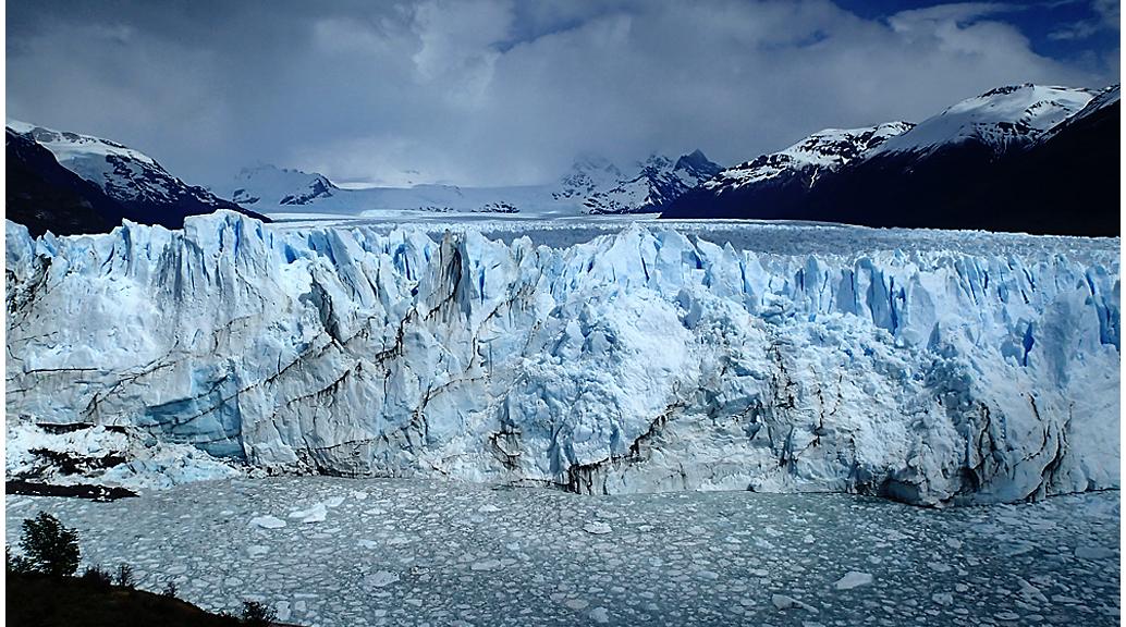Una de les glaceres més imponents del món. Ha estat considerada la vuitena meravella natural per les espectaculars vistes que ofereix
