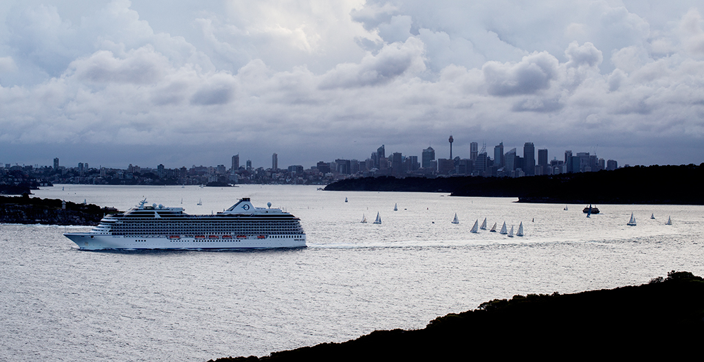 Skyline de Sydney vist desde Manly