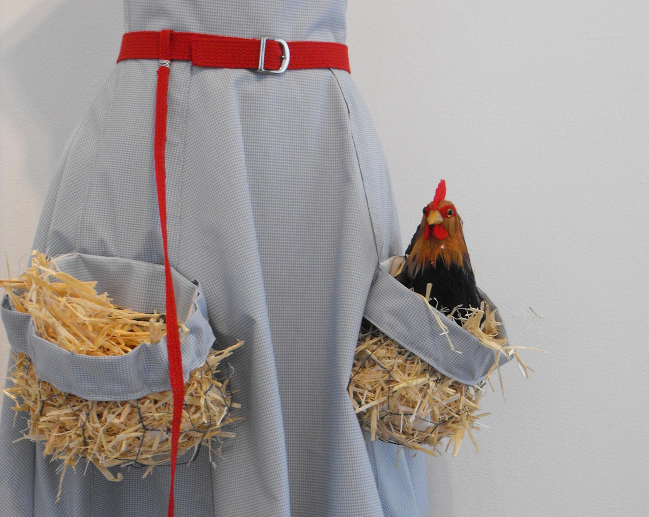 Two Chicken Dress, detail
