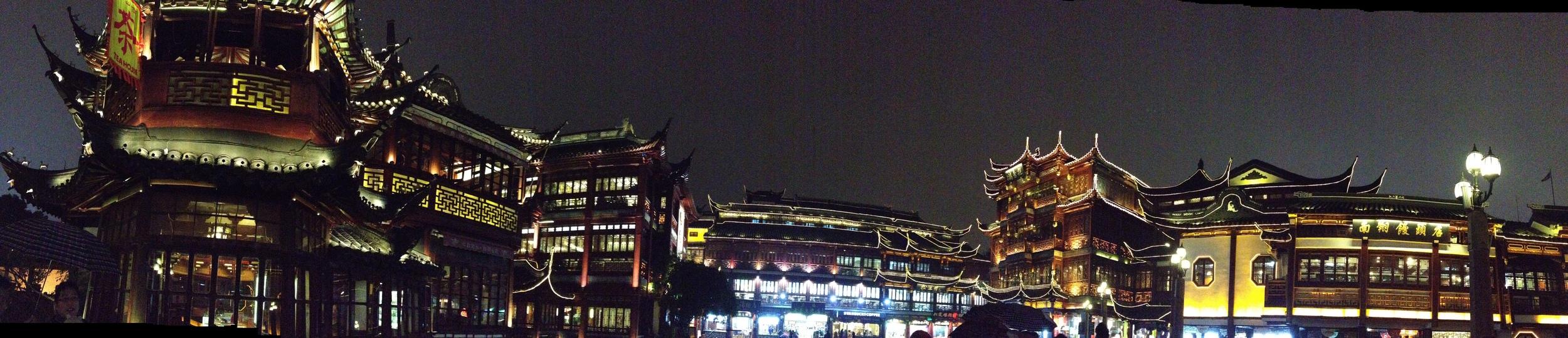 Chenghuang Temple, Yu Garden, Old Shanghai