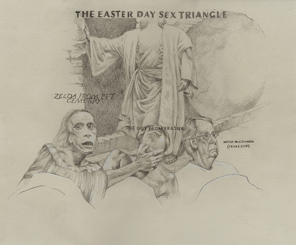 The Easter Day Sex Triangle