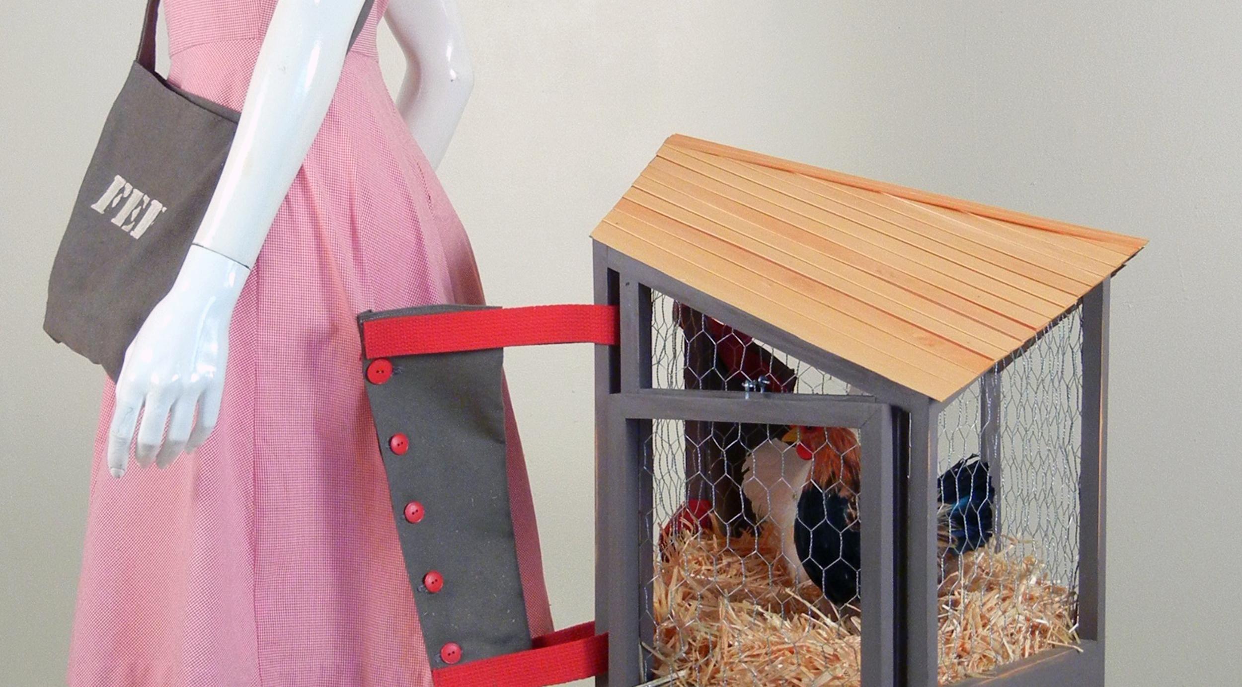 Two Chicken Coop Dress