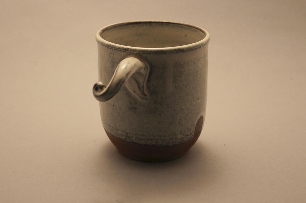 Mug with Apostrophe Handle