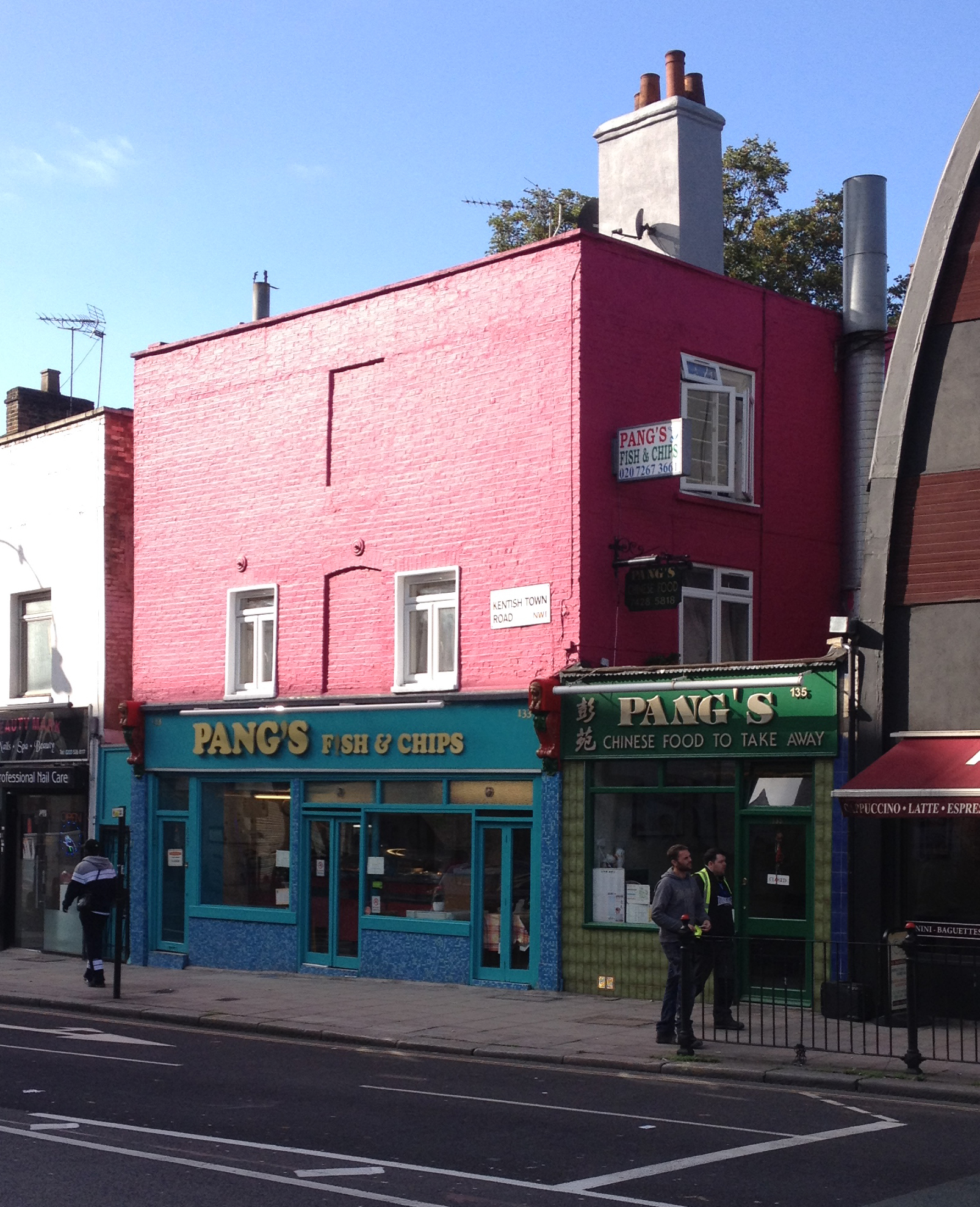 Pang's: one of the oldest buildings in Kentish Town