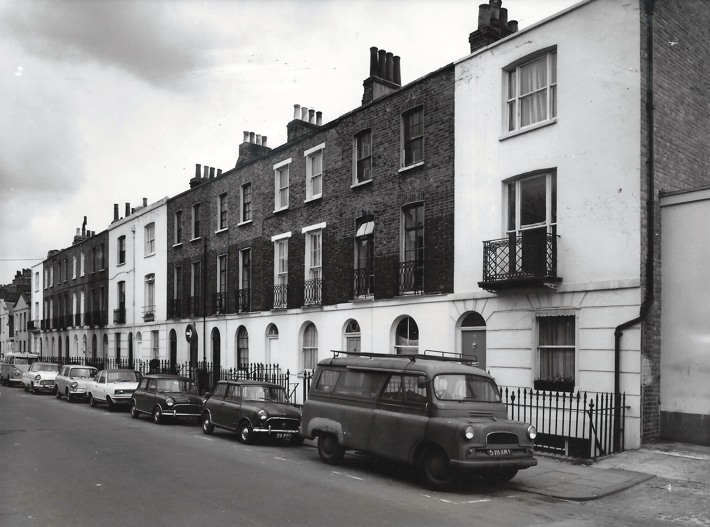 Jeffreys St in 1969 Credit: Historic England archive