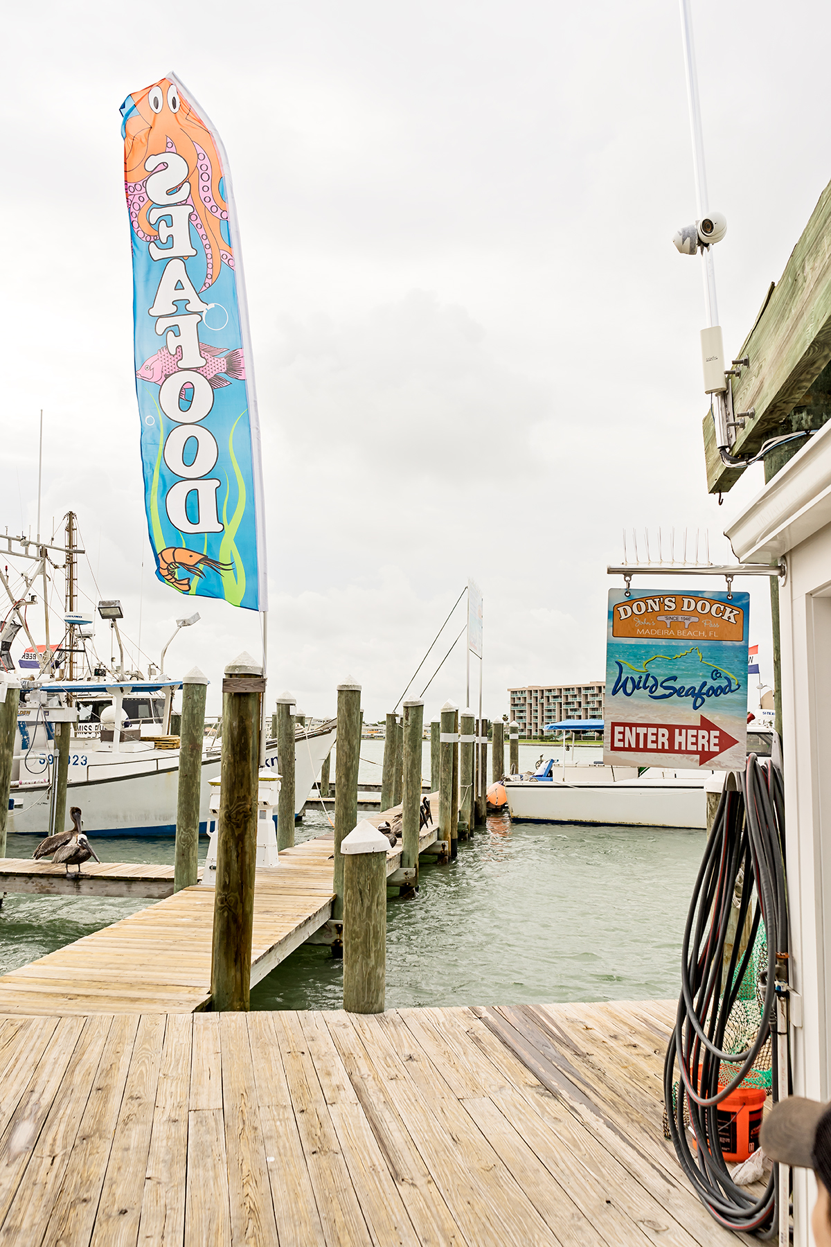 Wild Seafood also has a small store at Don's Dock.