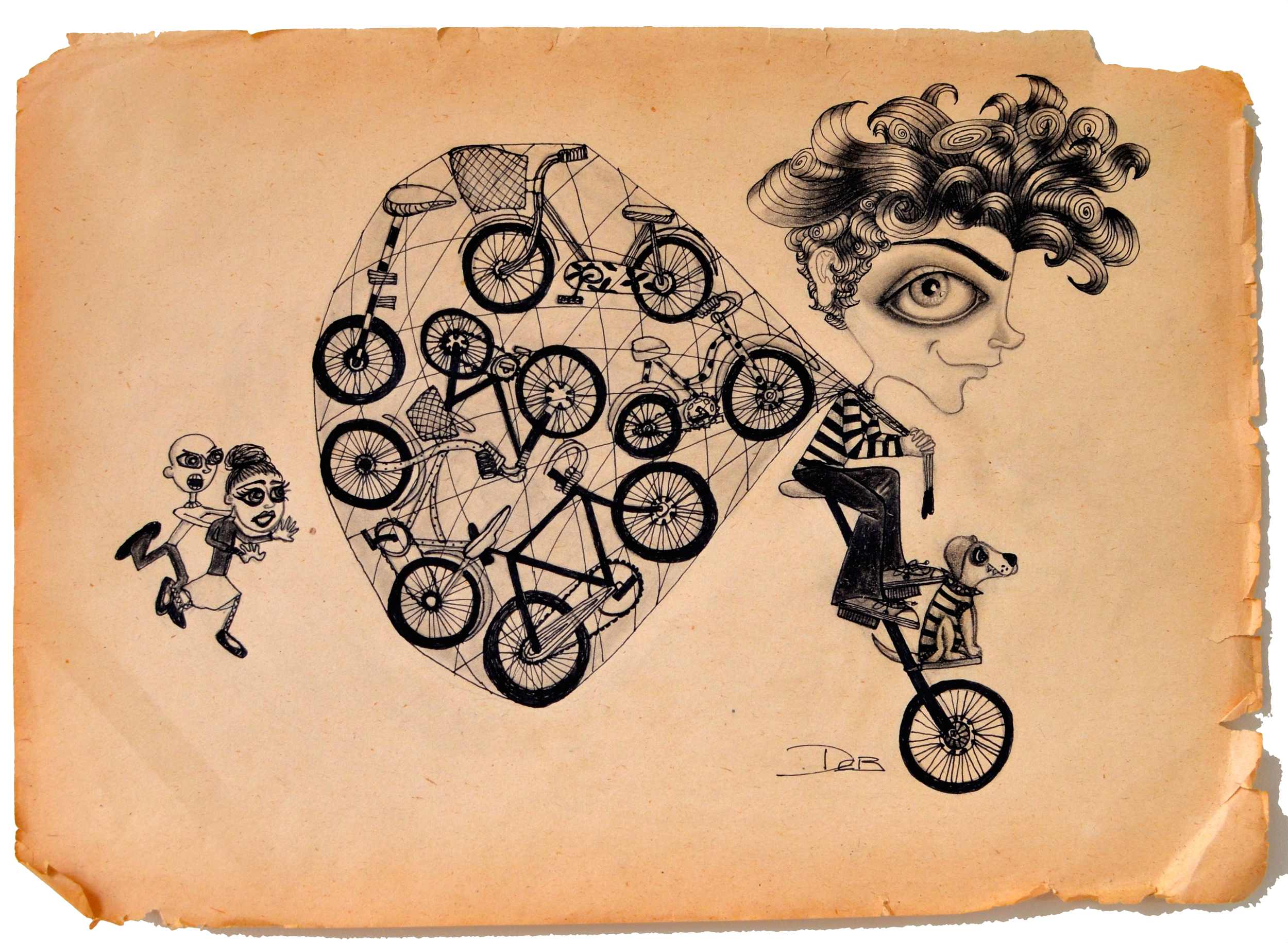 THE BYCICLE THIEF