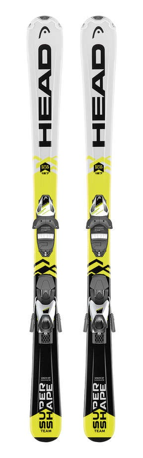 Supershape Team R - The Supershape Team SLR II starter kit delivers fun smooth progression to kids at the beginning of their ski journey. With a durable Structured Surface topsheet, tough easy gliding E Base Black, sharp looks and loads of scope for progression this ski is the ideal launch pad for a kid's passion for skiing.Sizes 67 77 87 97 107 117 127 137Book Online Here