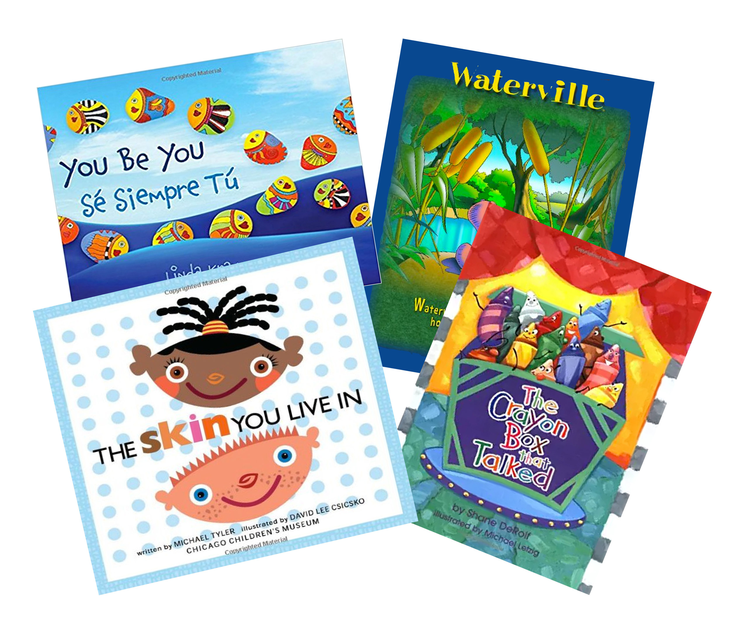 Selected titles used for  everykid  book-to-project workshops