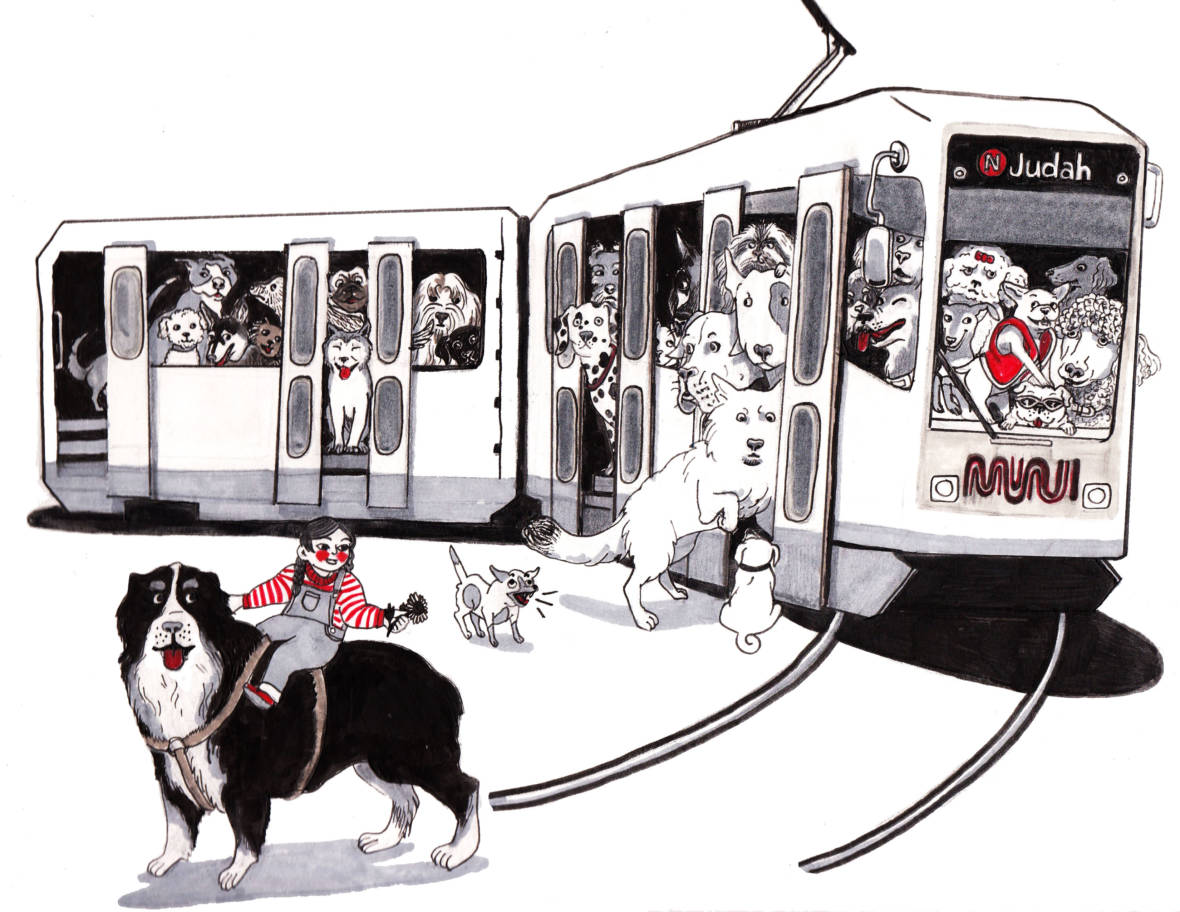 Dogs on Muni?