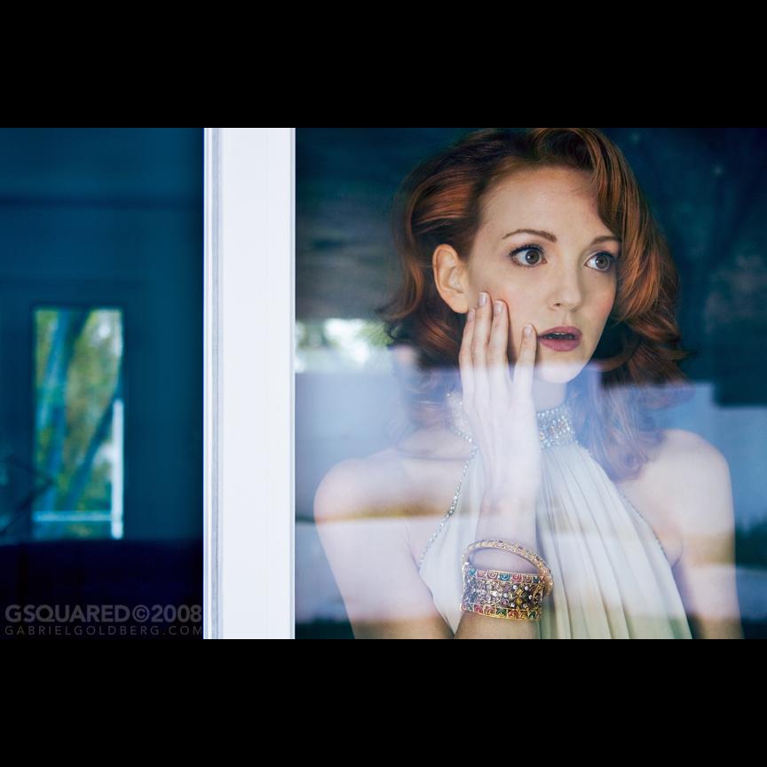Jayma Mays - Gabriel Goldberg (Photographer), Jeffrey Jagged (Hair)