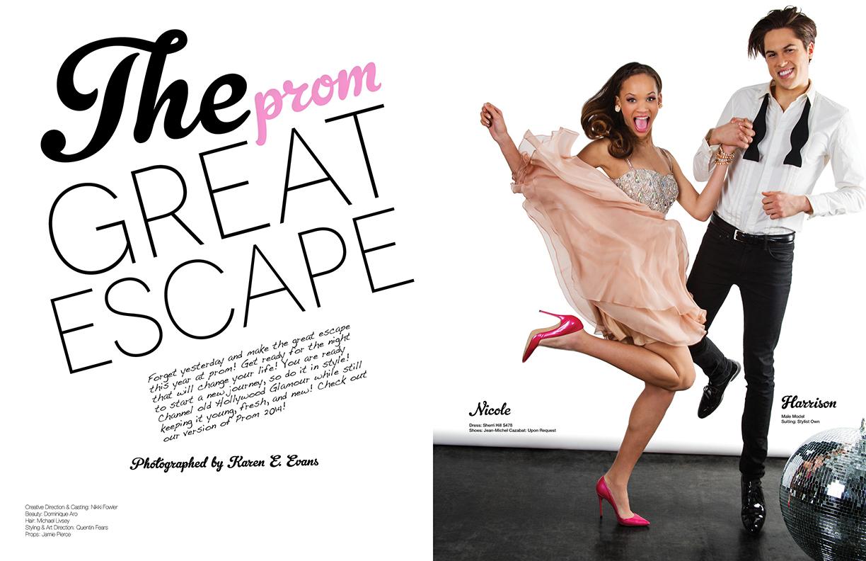 Prom Issue, Glitter Magazine