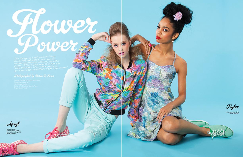 Spring Fever, Glitter Magazine