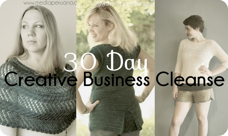 My journey on the 30 Day Creative Business Cleanse
