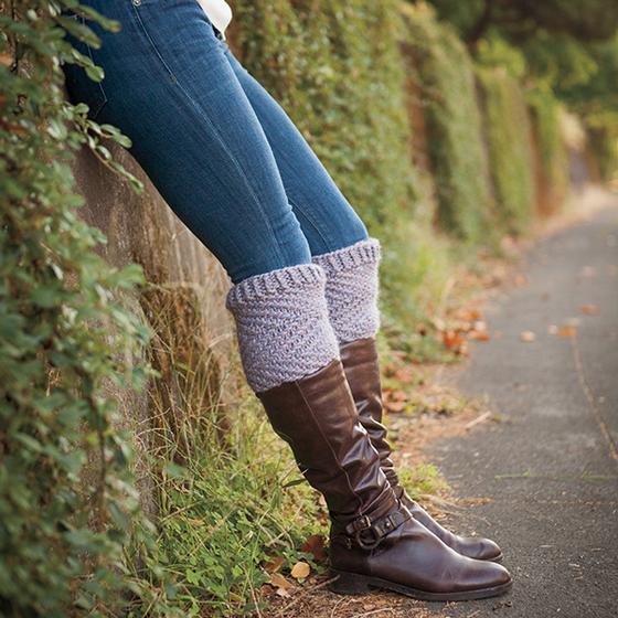 Frosting boot topper knitting pattern by Kristen Jancuk, MediaPeruana Designs